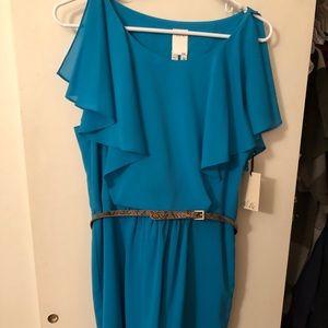 Ali-Ro med blue size 12 dress.